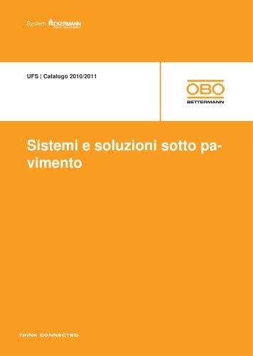 Sistemi sotto pavimento UFS
