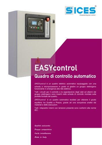 EASYCONTROL - Quadro di controllo per GE Automatici