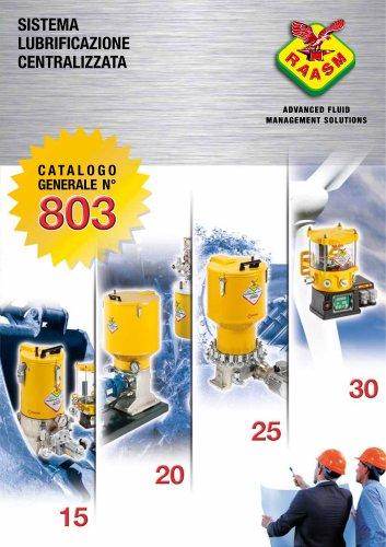 Sistemi di lubrificazione centralizzata - Catalogo generale