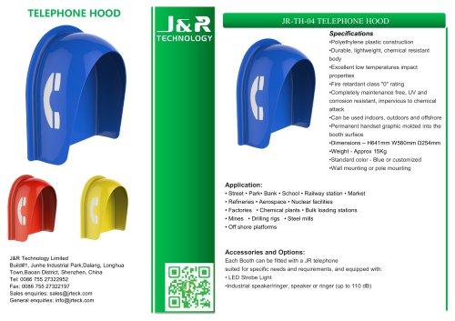 Cabina telefonica antivandalismo JR-TH-04