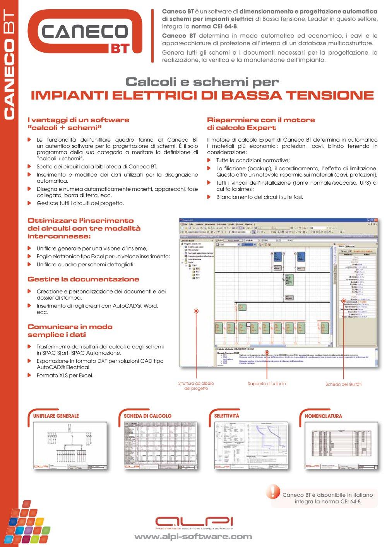 Schemi Elettrici Ups : Caneco bt calcoli e schemi per impianti elettrici di bassa