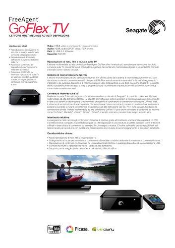 Lettore multimediale ad alta definizione GoFlex TV