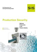 Plastics Industry: Production security and optimum productivity.