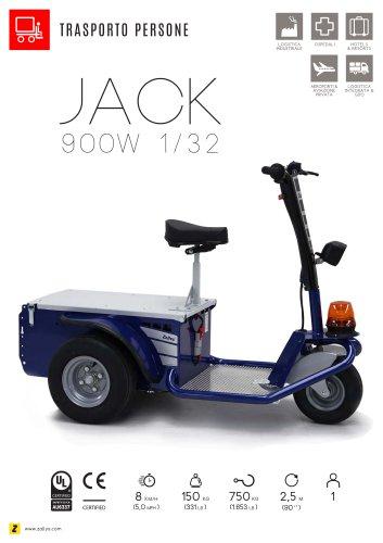 JACK trattore trasportatore elettrico