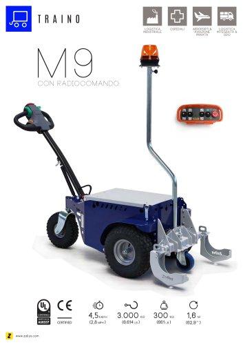 M9 trainatore elettrico con radiocomando