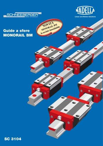 Guide a sfere MONORAIL BM