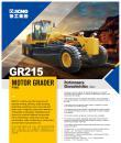 XCMG  moto grader GR215 construction