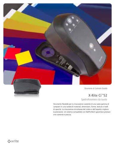 Spettrofotometro X-Rite Ci™52