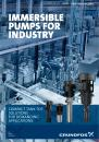 IMMERSIBLE PUMPS FOR INDUSTRY, MTR, MTH, MTA, MTS