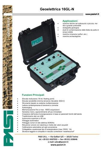 Energizzatore per geoelettrica P100-2-N