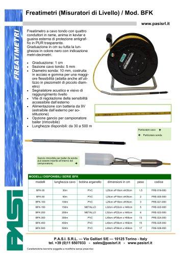 Freatimetro Mod. BFK