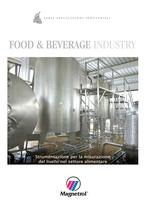 Food &amp; Beverage Industry - Strumentazione per la misurazione