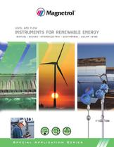 Level and Flow Instruments for Renewable Energy