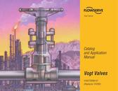 Catalog and Application Manual Valves
