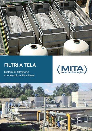 Filtri a Tela per la Depurazione Acque