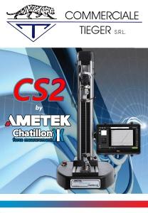 Nuovo banco prova motorizzato CS2 Ametek-Chatillon