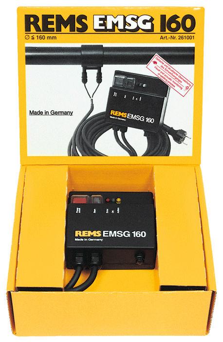 godere del prezzo più basso grande vendita pacchetto elegante e robusto Torcia da taglio raffreddata ad aria - REMS EMSG 160 - REMS