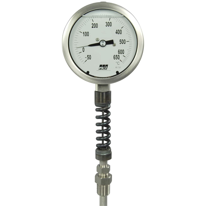 Termometro A Dilatazione Di Gas In Bulbo Vt100 Pci Instruments Ltd Analogico Con Quadrante Ad Inserimento 2 cm), applicando all'estremità del bulbo una crema per la pelle od olio per bebè. pci instruments ltd