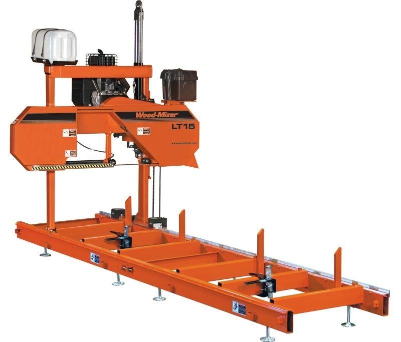Sega a nastro per legno a doppia colonna orizzontale max. ø 28