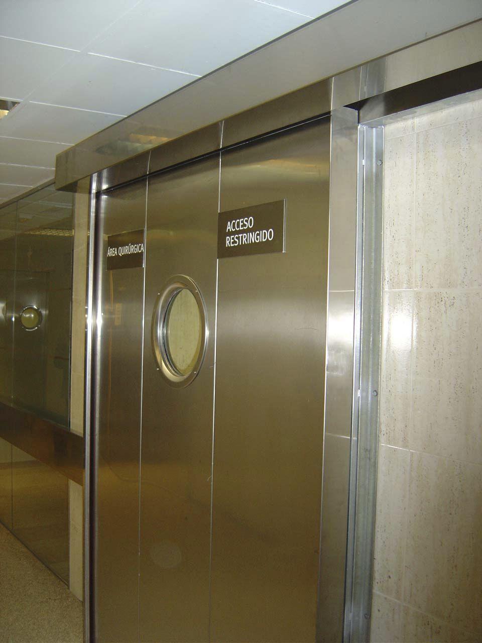 Porte In Alluminio Anodizzato porta scorrevole - alfateco madrid s.a. - in acciaio