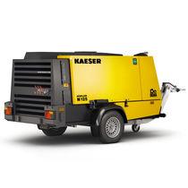 Compressore d'aria / mobile / con motore diesel / da cantiere