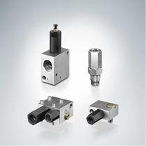 Valvola di bilanciamento / a pistone / a comando idraulico / di regolazione della pressione