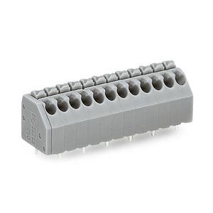 morsetto componibile con connessione a molla / a leva / push-in / senza viti