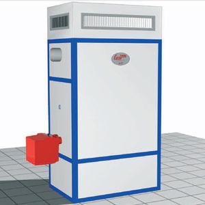 generatore di aria calda stazionario