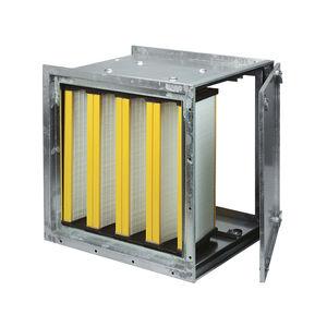 scatola di filtro plissé