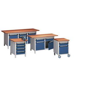 banco da lavoro in legno / mobile / a cassetti / a scomparti