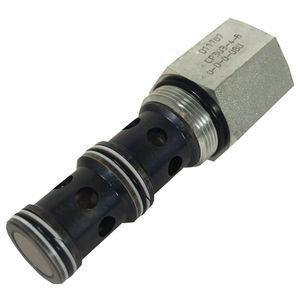 valvola con compensatore di pressione / per controllo di flusso / a 3 vie
