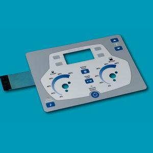 tastiera ad incastro / con sistema di puntamento / a membrana / in poliestere