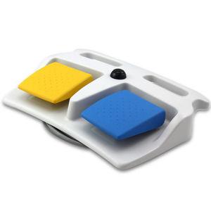 interruttori a pedale di comando / wireless RF / ad azione momentanea / 2 pedali