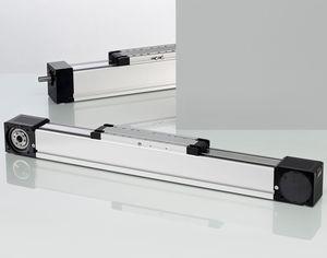 unità lineare per camera bianca / elettrica / a cinghia / con vite a sfere