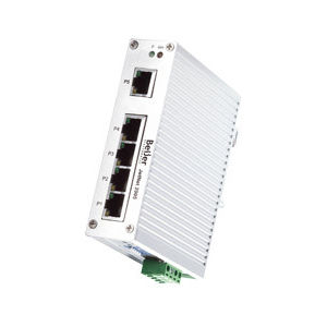 switch Ethernet non gestibile / 8 porte / su guida DIN / RJ45