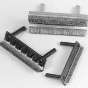 spazzola a listello / di smerigliatura / metallica / per utensili