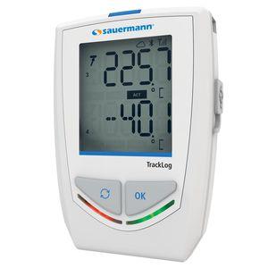 registratore di dati di temperatura e umidità / senza fili / con display LCD / per  termocoppia