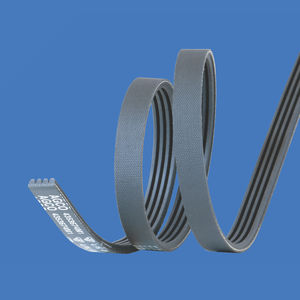 cinghia striata / poly-V / in gomma / ad uso industriale