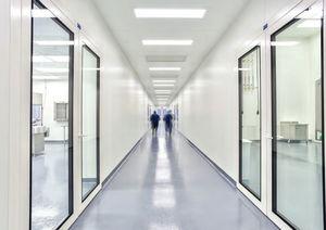 camera bianca modulare