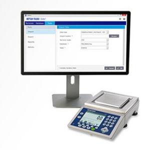 software per reportistica / di regolazione / di basi di dati / di gestione dati