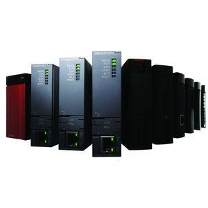 PLC compatto / con I/O integrati / per bus di campo / su rete Ethernet
