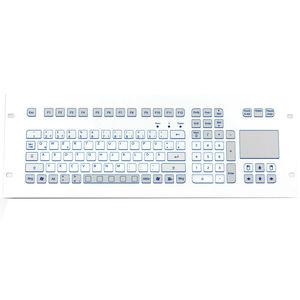 tastiera per rack / con interruttori a forbice / 105 tasti / con touchpad