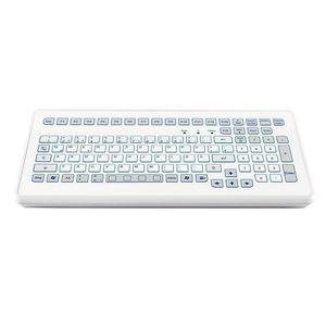 tastiera da ufficio / 104 tasti / con sistema di puntamento / a corsa breve