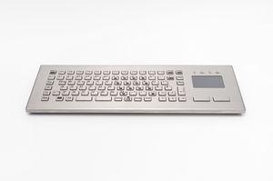 tastiera da ufficio / 84 tasti / con touchpad / compatta