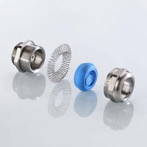 pressacavo in acciaio inossidabile / in ottone / con schermatura EMC / dritto