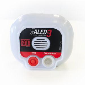 rivelatore di campo elettrostatico / con allarme visivo / con allarme sonoro / compatto