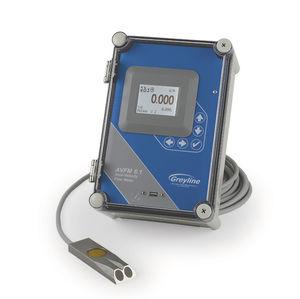 misuratore di portata area-velocità / ad ultrasuoni / per acqua / per acque reflue
