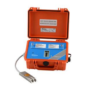 misuratore di portata ad ultrasuoni / per acque reflue / per vapore / con indicator