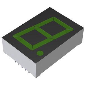 display LED / alfanumerici / a una cifra / a 7 segmenti