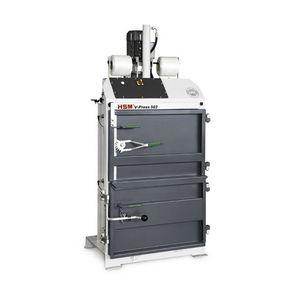 pressa imballatrice verticale / a carico frontale / per cartone / per carta